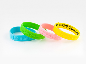 pulseras de silicona personalizadas